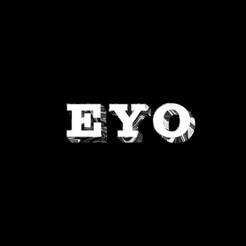 "EYO (WHITE TEXT) (Pronunciation ""A-O"") Men's Sweatshirt by malsarthegreat's Artist Shop"