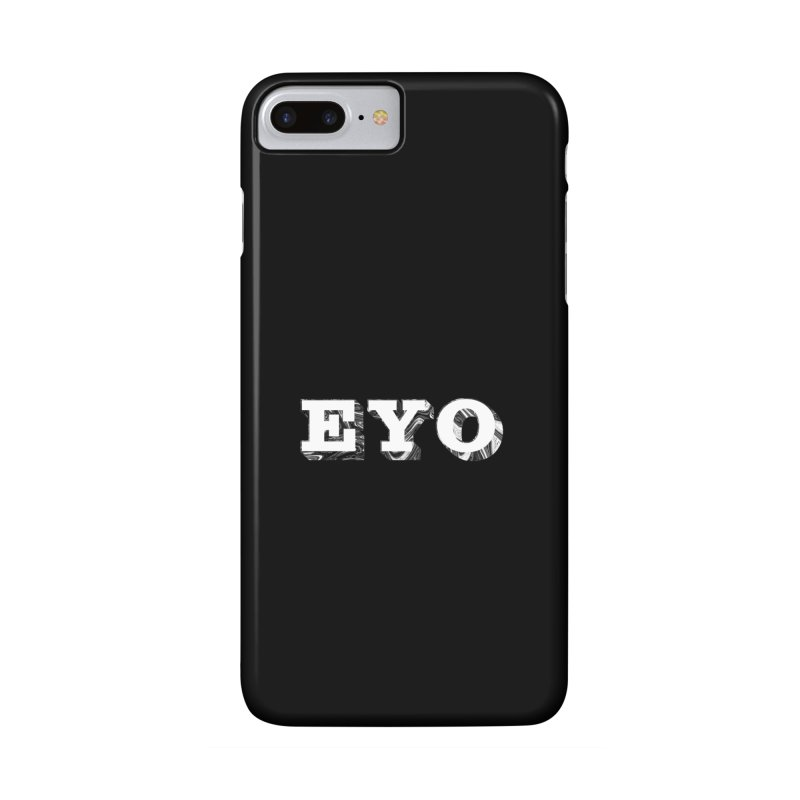 "EYO (WHITE TEXT) (Pronunciation ""A-O"") Accessories Phone Case by malsarthegreat's Artist Shop"