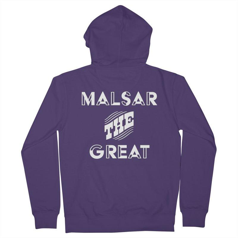 Malsar The Great Logo Women's Zip-Up Hoody by malsarthegreat's Artist Shop