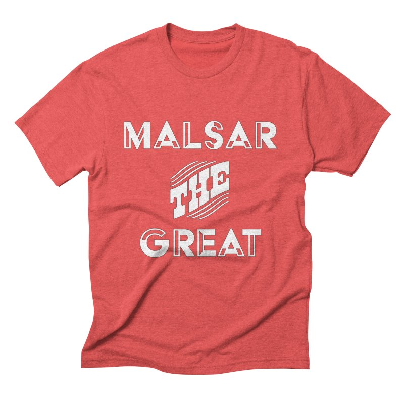 Malsar The Great Logo Men's Triblend T-shirt by malsarthegreat's Artist Shop