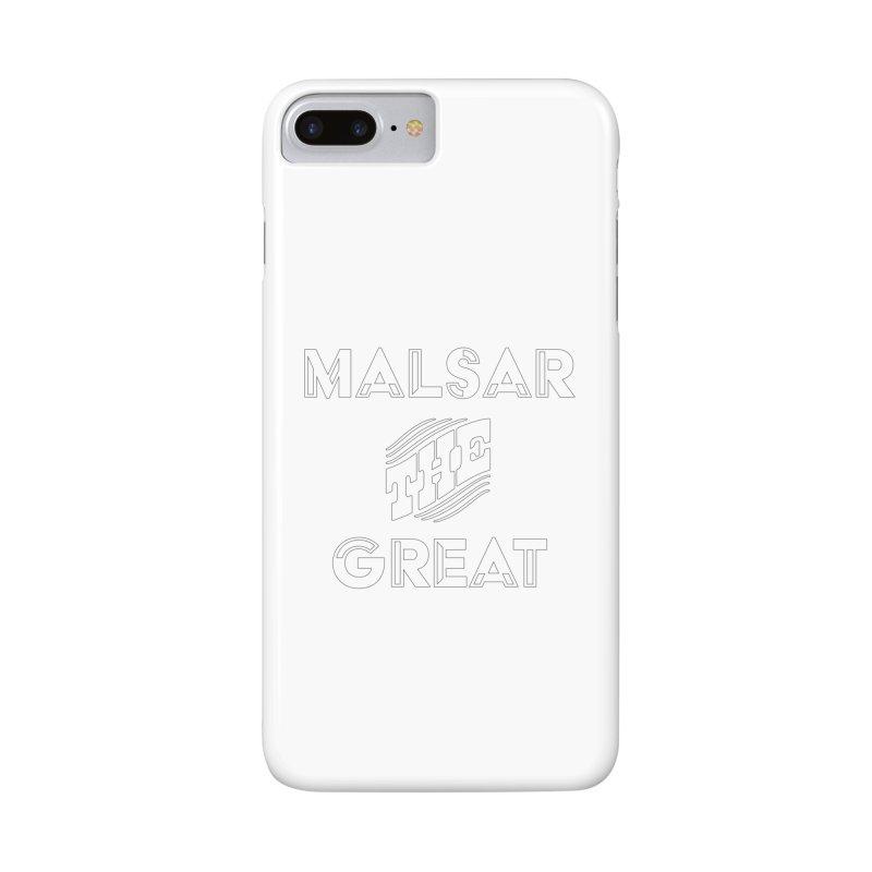 Malsar The Great Logo Accessories Phone Case by malsarthegreat's Artist Shop