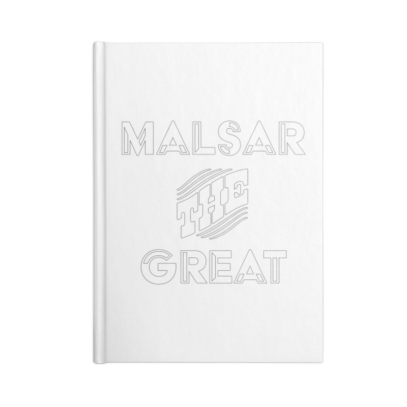 Malsar The Great Logo Accessories Notebook by malsarthegreat's Artist Shop