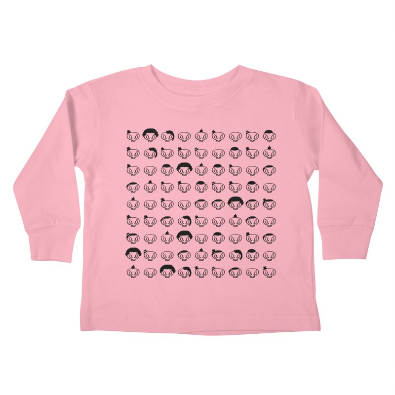 Many..Many Hats Kids Toddler Longsleeve T-Shirt by malsarthegreat's Artist Shop