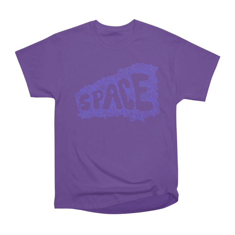 Negative Space (BLUE) Men's Classic T-Shirt by malsarthegreat's Artist Shop