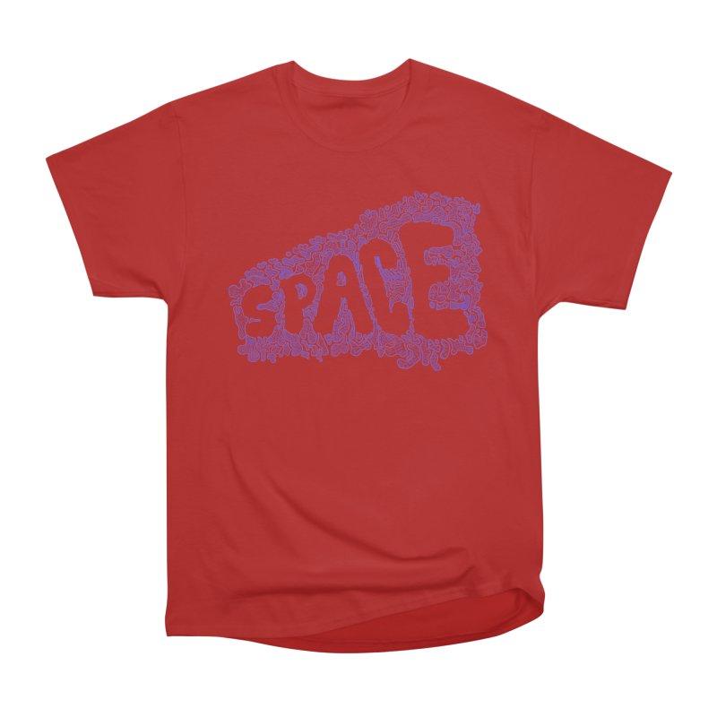 Negative Space (BLUE) Women's Classic Unisex T-Shirt by malsarthegreat's Artist Shop