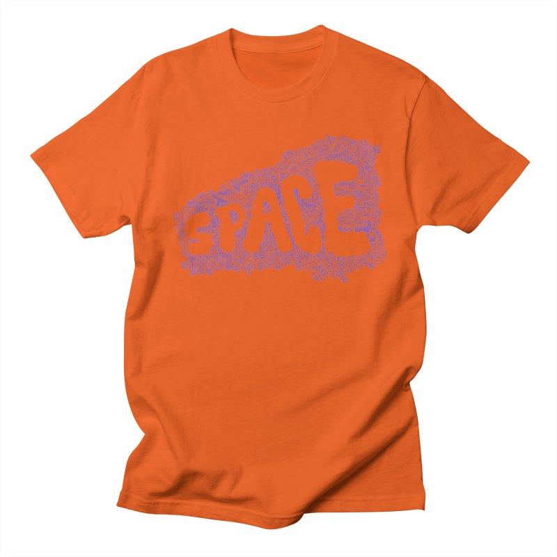 Negative Space (BLUE) Women's Unisex T-Shirt by malsarthegreat's Artist Shop