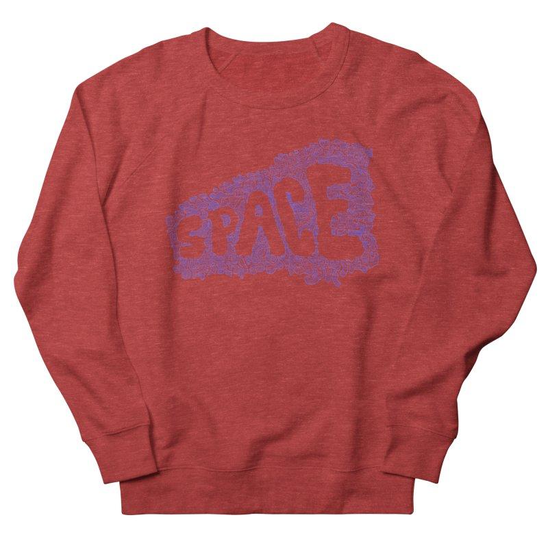 Negative Space (BLUE) Women's Sweatshirt by malsarthegreat's Artist Shop