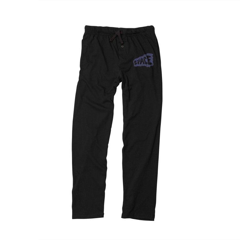 Negative Space (BLUE) Women's Lounge Pants by malsarthegreat's Artist Shop