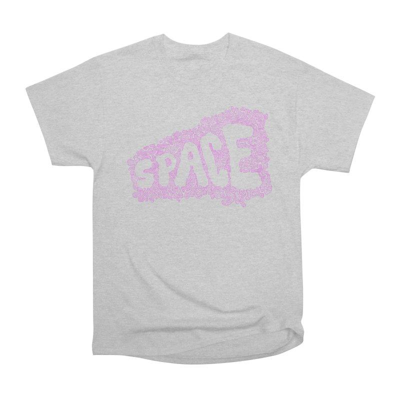Negative Space (PINK) Women's Heavyweight Unisex T-Shirt by malsarthegreat's Artist Shop