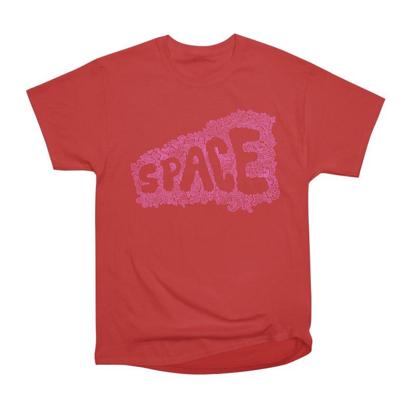 Negative Space (PINK) Men's Classic T-Shirt by malsarthegreat's Artist Shop