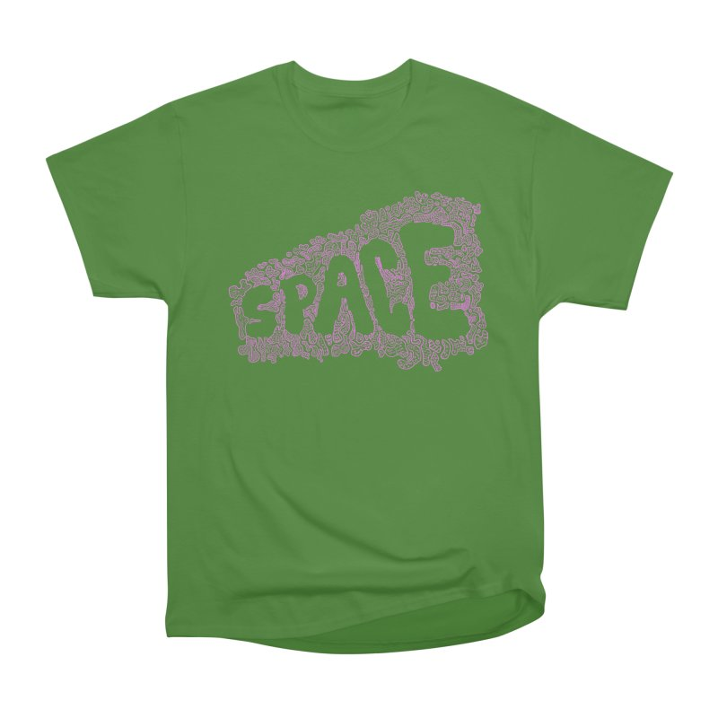 Negative Space (PINK) Women's Classic Unisex T-Shirt by malsarthegreat's Artist Shop