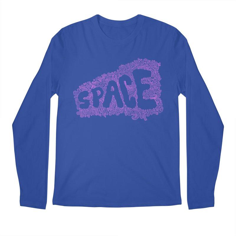 Negative Space (PINK) Men's Longsleeve T-Shirt by malsarthegreat's Artist Shop