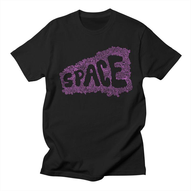 Negative Space (PINK) Men's T-shirt by malsarthegreat's Artist Shop