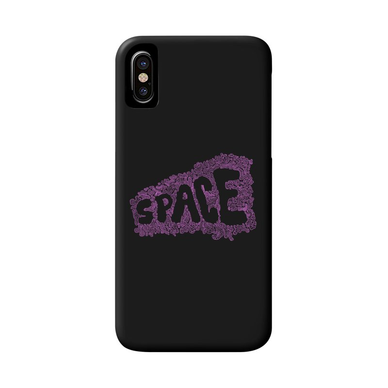 Negative Space (PINK) Accessories Phone Case by malsarthegreat's Artist Shop