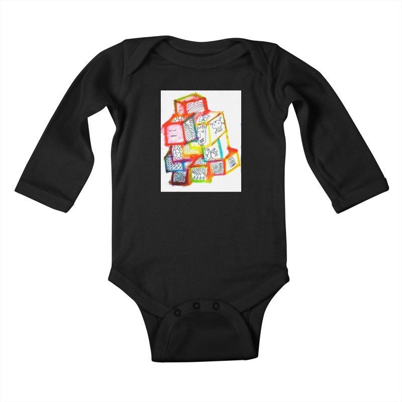 The Future Kids Baby Longsleeve Bodysuit by maltzmania's Artist Shop