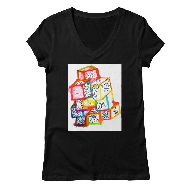 The Future Women's V-Neck by maltzmania's Artist Shop