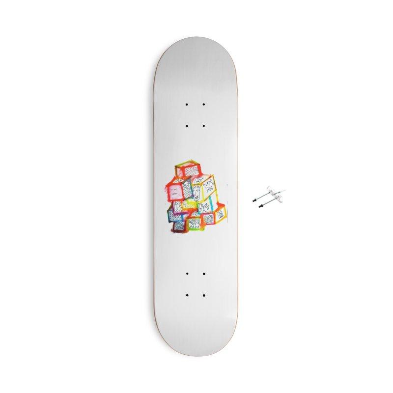 The Future Accessories Skateboard by maltzmania's Artist Shop