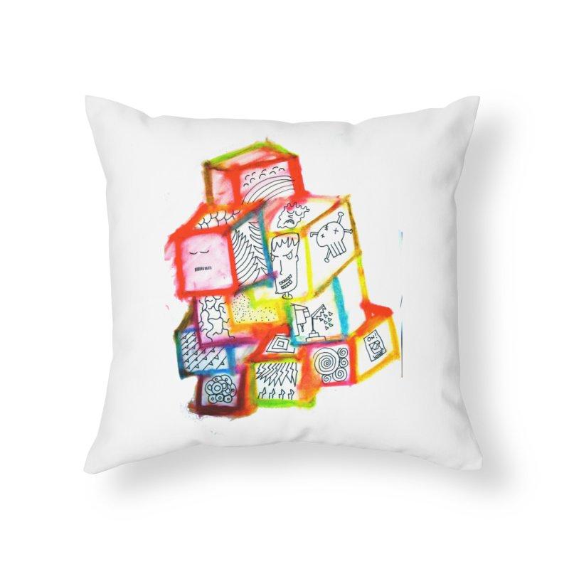 The Future Home Throw Pillow by maltzmania's Artist Shop