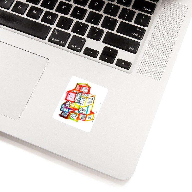 The Future Accessories Sticker by maltzmania's Artist Shop