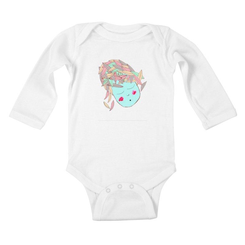 FALL SUXZ Kids Baby Longsleeve Bodysuit by maltzmania's Artist Shop