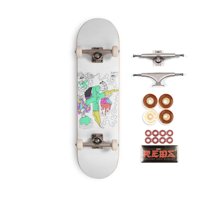YOUR NEW FAVOIRTE SHIRT Accessories Skateboard by maltzmania's Artist Shop