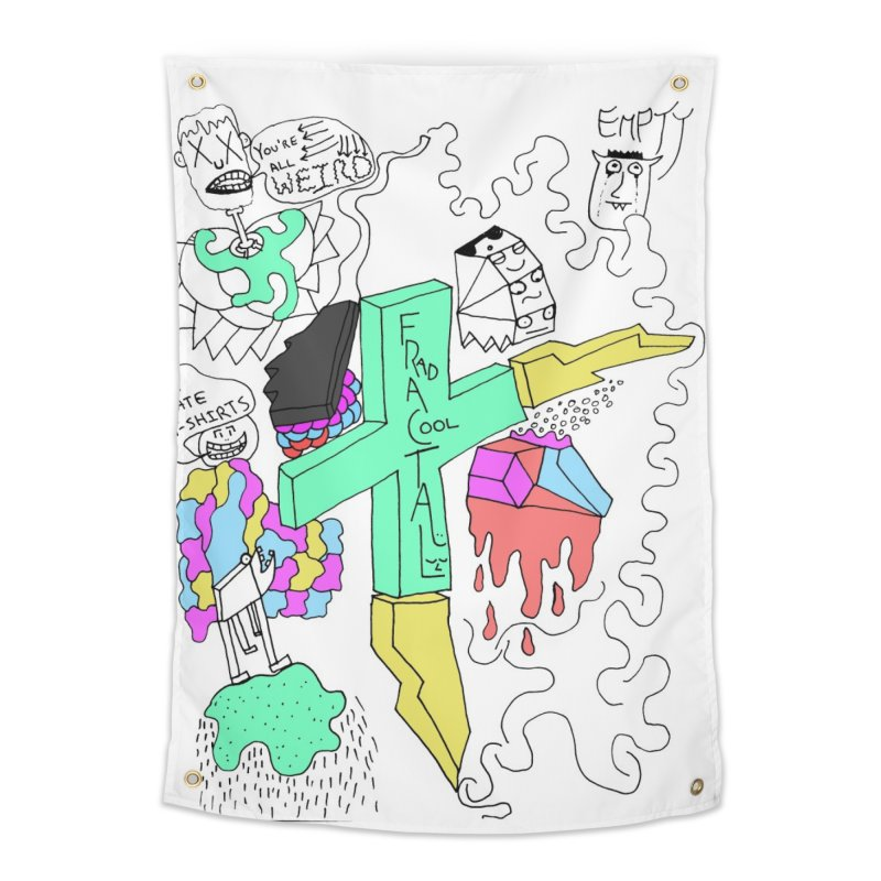 YOUR NEW FAVOIRTE SHIRT Home Tapestry by maltzmania's Artist Shop