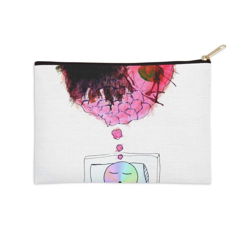 can this work Accessories Zip Pouch by maltzmania's Artist Shop