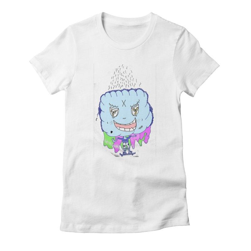 CLOUD GUY Women's T-Shirt by maltzmania's Artist Shop