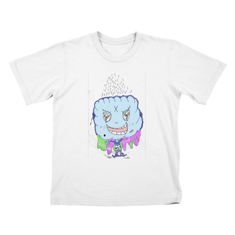 CLOUD GUY Kids T-Shirt by maltzmania's Artist Shop