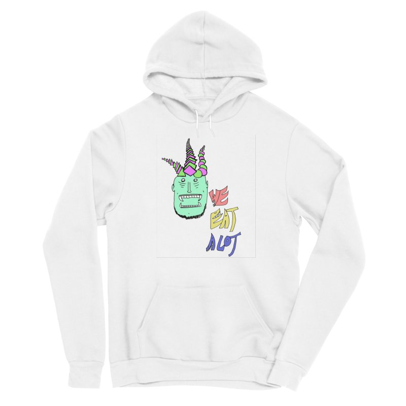 WE DO THOUGH Men's Pullover Hoody by maltzmania's Artist Shop