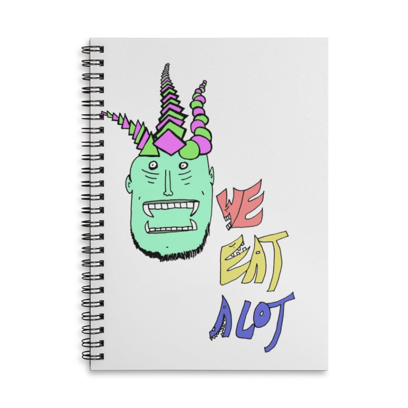 WE DO THOUGH Accessories Notebook by maltzmania's Artist Shop