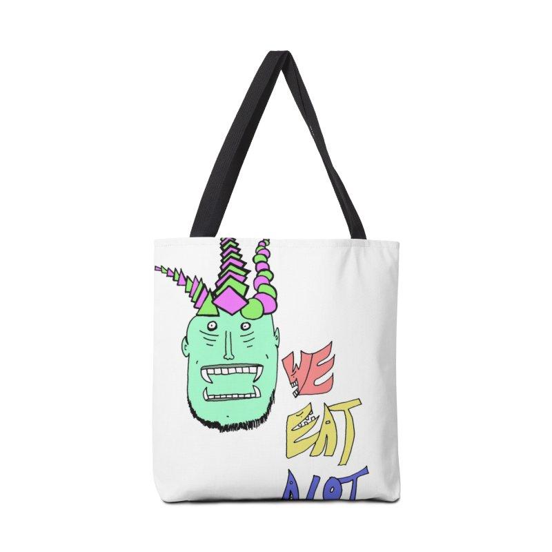 WE DO THOUGH Accessories Bag by maltzmania's Artist Shop