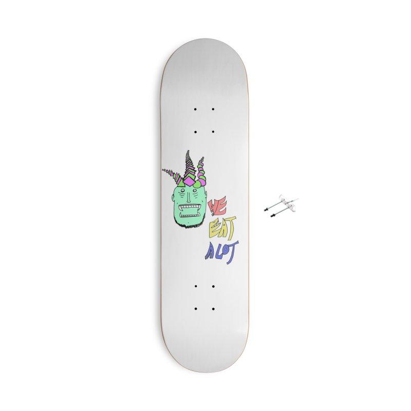 WE DO THOUGH Accessories Skateboard by maltzmania's Artist Shop