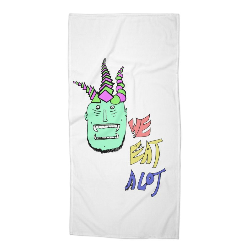WE DO THOUGH Accessories Beach Towel by maltzmania's Artist Shop