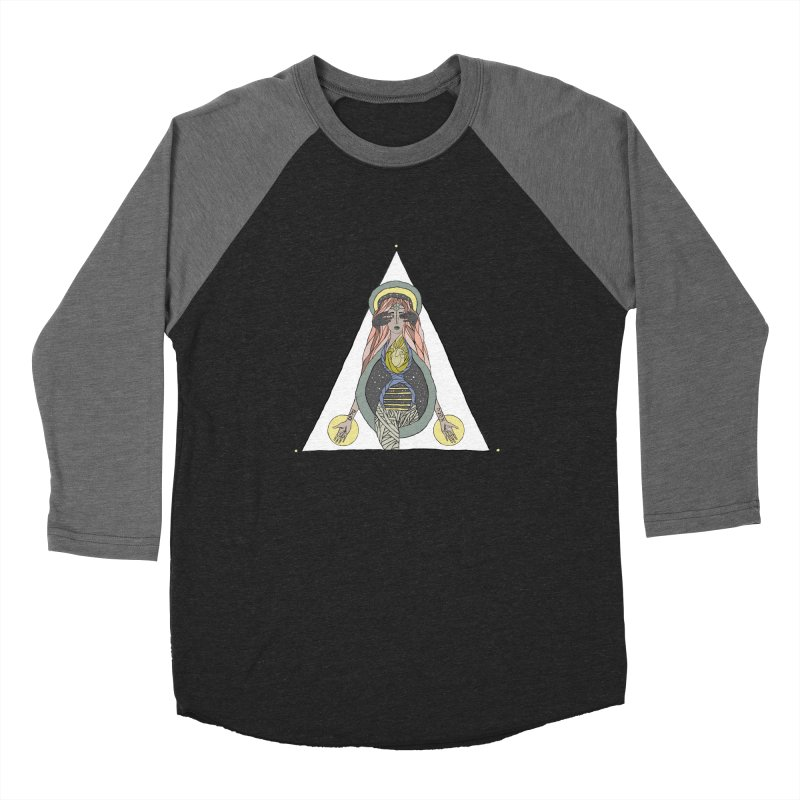 Beyond The Veil Women's Baseball Triblend Longsleeve T-Shirt by Manaburn's Shop
