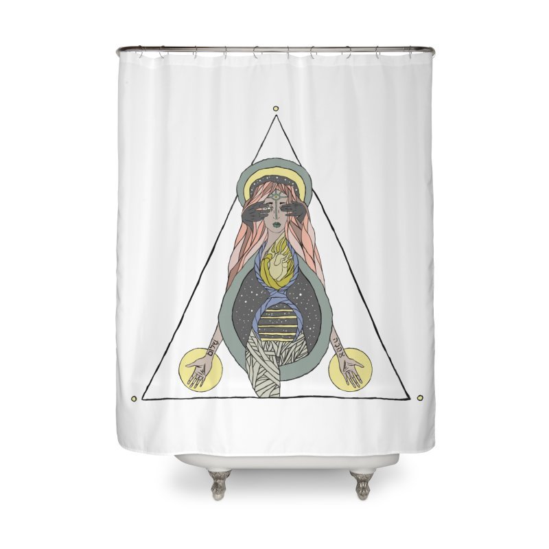 Beyond The Veil Home Shower Curtain by Manaburn's Shop