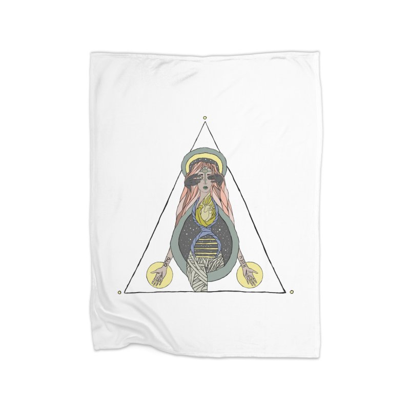 Beyond The Veil Home Fleece Blanket Blanket by Manaburn's Shop