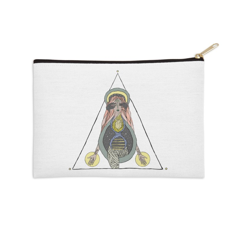 Beyond The Veil Accessories Zip Pouch by Manaburn's Shop
