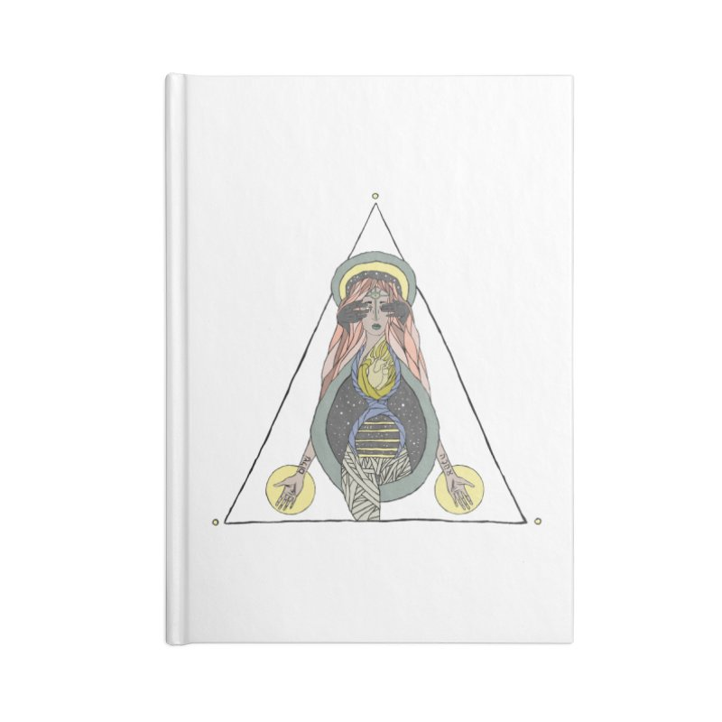Beyond The Veil Accessories Lined Journal Notebook by Manaburn's Shop