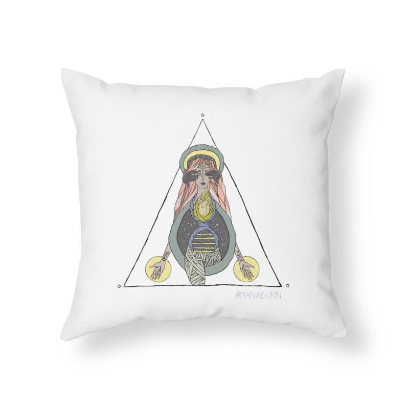 Beyond The Veil Home Throw Pillow by Manaburn's Artist Shop