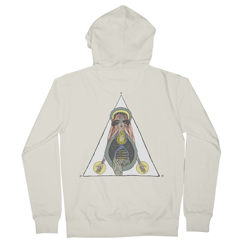 Beyond The Veil Women's Zip-Up Hoody by Manaburn's Artist Shop