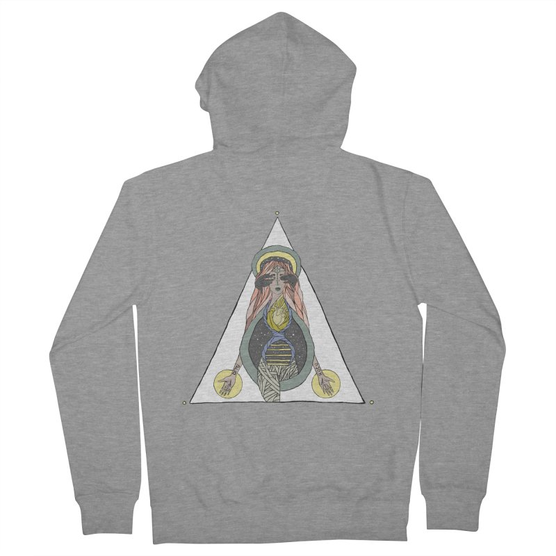Beyond The Veil Men's Zip-Up Hoody by Manaburn's Artist Shop