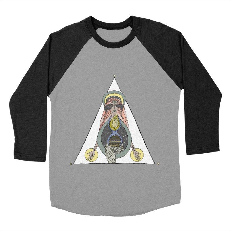 Beyond The Veil Men's Baseball Triblend T-Shirt by Manaburn's Artist Shop
