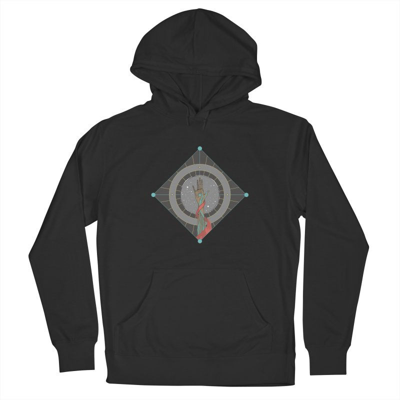 Guided Hand Men's French Terry Pullover Hoody by Manaburn's Shop