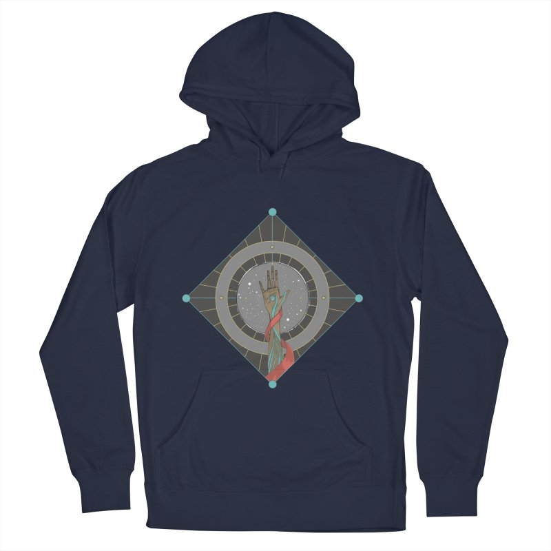 Guided Hand Women's Pullover Hoody by Manaburn's Artist Shop