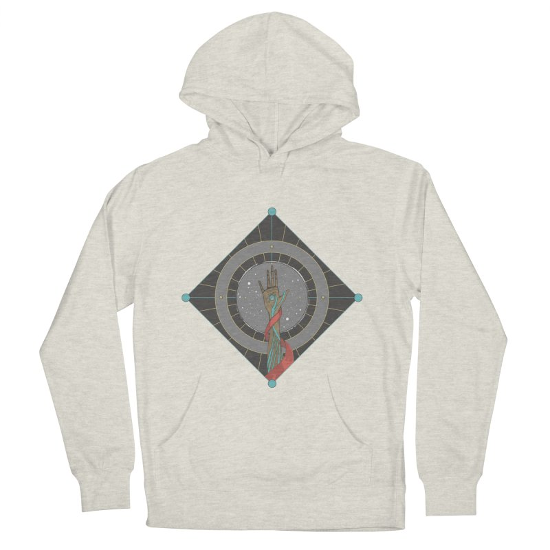 Guided Hand Men's Pullover Hoody by Manaburn's Artist Shop