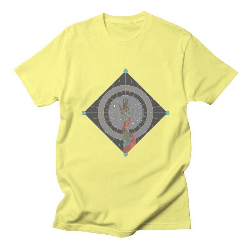Guided Hand Men's Regular T-Shirt by Manaburn's Shop