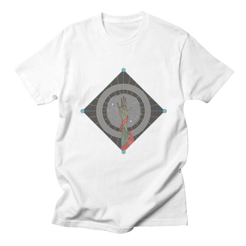Guided Hand Men's T-shirt by Manaburn's Artist Shop