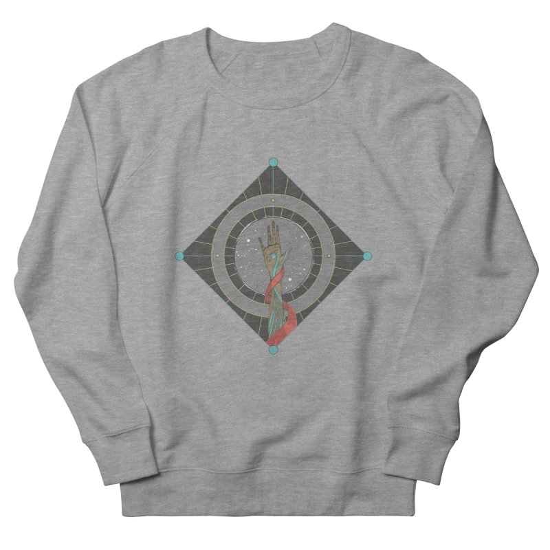 Guided Hand Men's Sweatshirt by Manaburn's Artist Shop