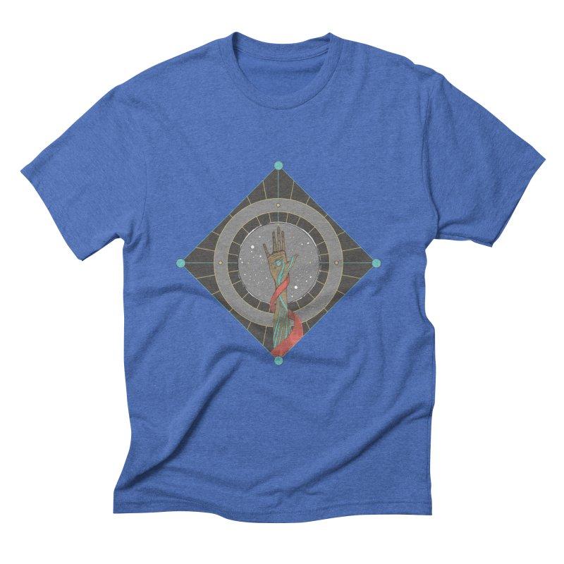 Guided Hand Men's Triblend T-Shirt by Manaburn's Shop